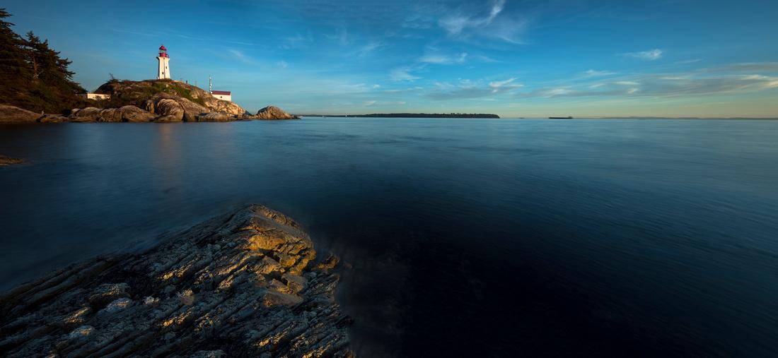 Evening Lighthouse Glow